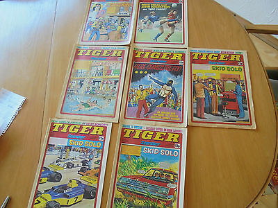 tiger comics  7 of them