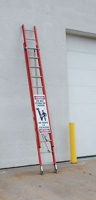 ACCUFORM SIGNS KLB426 Ladder Climb Preventer, 8