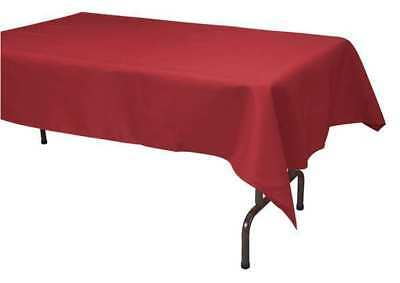 "96"" Tablecloth, Red ,Phoenix, TO5296-RD"