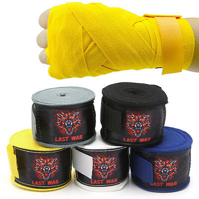 5M Protecting Boxing Fist Inner Hand Wraps Padded MMA Bandages Muay Thai Wrist