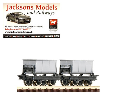Roco 34601 Side Tipping Cement Hopper Wagons (Pack of 2) HOe Gauge