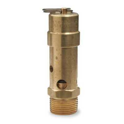 CONTROL DEVICES SB75-0A125 Air Safety Valve,3/4 In Inlet, 125 psi
