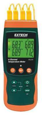 Thermocouple Thermometer,4 Input EXTECH SDL200