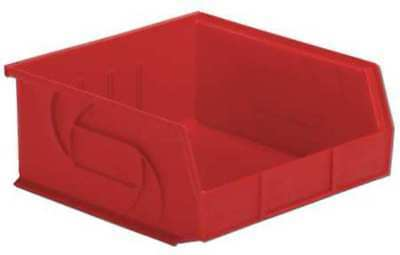 """Red Hang and Stack Bin, 10-7/8""""L x 11""""W x 5""""H LEWISBINS PB1011-5 Red"""