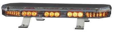 CODE 3 21TR22A2 Lo Mini Lightbar,LED,Ambr,Perm,22-1/2 In