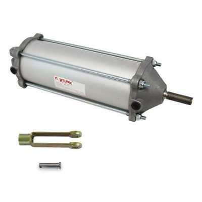 """3-1/2"""" Bore Double Acting Air Cylinder 6.68"""" Stroke VELVAC 100131"""
