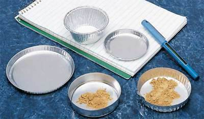 EAGLE THERMOPLASTIC D-123 Weighing/Drying Pan, 1/4 In. D, PK 50