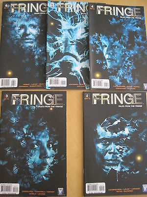 FRINGE : TALES FROM THE FRINGE #s 2,3,4,5,6 of the 6 issue WILDSTORM series.2010