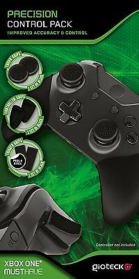 Gioteck Precision Control Pack for Xbox One - Thumb, Controller, & Trigger Grips