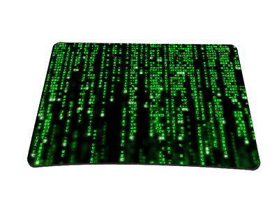 Silent Monsters Gaming & Office Mauspad 24 x 20 cm, Mousepad Design: Matrix