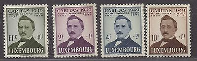 **Luxembourg, SC# B60-B65 MH VF Complete Set, CV $48.70