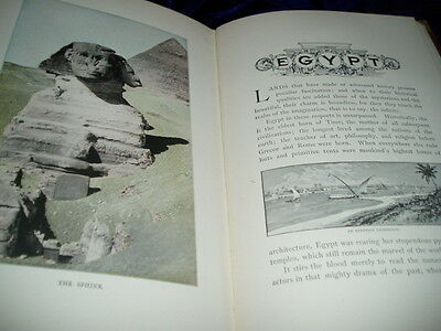 Antique Book 1800s STODDARDS LECTURES Egypt  Middle East  Photos Illustrations