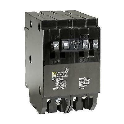 Square D by Schneider Electric HOMT2020250CP Homeline 2-20-Amp Single-Pole