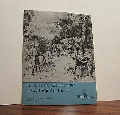 1988 Civil War Art Christie's Auction Catalogue