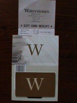 £30 Waterstones Gift Card Voucher Unwanted Gift Books Stationery Great Present.