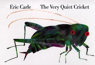 The Very Quiet Cricket by Eric Carle (English) Board Books Book Free Shipping!