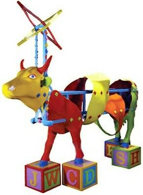 Cow Parade 2003 KIDS KOWSTRUCTION #7260 New in Box with Tag, Retired!