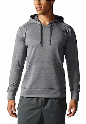 Adidas Men's Ultimate Hoody Dark Grey/Black