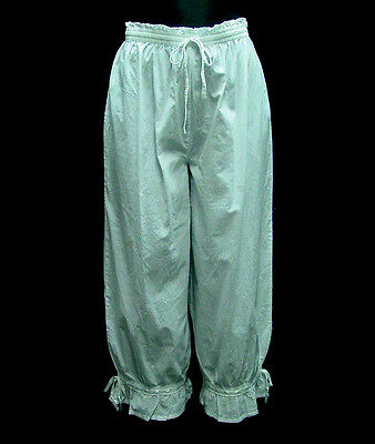 Bloomers Victorian Edwardian Civil War style pantaloons all cotton sizes S-XL