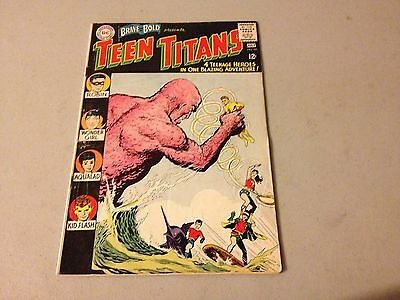 BRAVE AND THE BOLD #60 Silver Age comic 1st Appearance WONDER GIRL #34TT