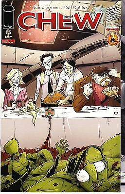 CHEW #15 Image Comic 1st FIRST Print SOLD OUT Near Mint to NM+