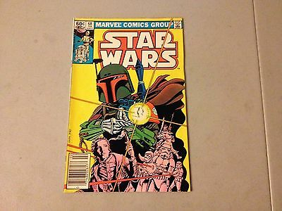 STAR WARS #68 Marvel Bronze Age BOBA FETT KEY ISSUE NEWSSTAND Higher Grade A