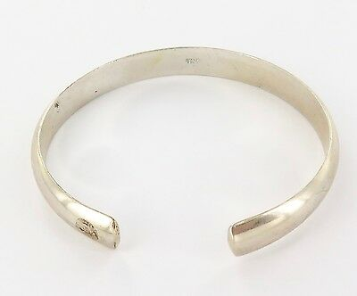 """Superb / Quality Oriental, Either Chinese Or Japanese S/silver """"Slave"""" Bangle."""