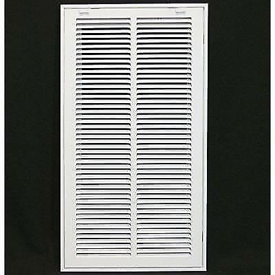 """12"""" x 24"""" RETURN FILTER GRILLE - Easy Air FLow - Flat Stamped Face New"""