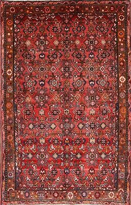 Excellent All-Over Floral 4x6 Hossainabad Hamadan Persian Oriental Area Rug Wool