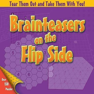 Brainteasers on the Flip Side Hardcover BOOK by Michael Rios and Dave Tuller