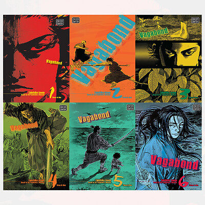 Takehiko Inoue VAGABOND VIZBIG ED GN Series Vol (1 to 6) 6 Books Set Pack NEW UK