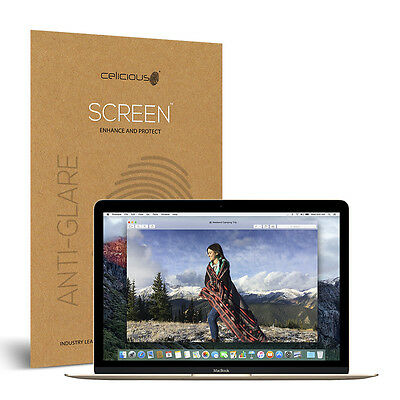 Celicious Matte Apple Macbook 12-inch Anti-Glare Screen Protector [Pack of 2]
