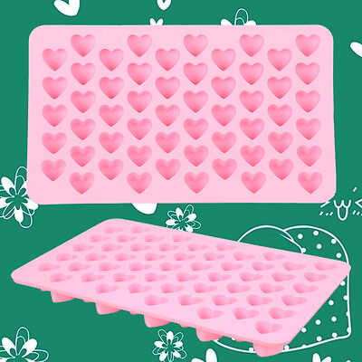1X Cute Love Heart Shaped Chocolate Cake Cookies Baking Mould Mold Ice Cube Mold