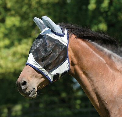 New MASTA Fly Mask With Face Cover & EARS, Small Pony, Pony, Cob, Full, XFull