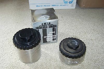 Film Photography Darkroom Developing Lot: Prinz 570 Film Tank and Omega Tank