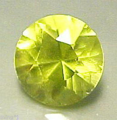 SUPERB COLOR! 9mm BRILLIANT ROUND LEMON QUARTZ #R389