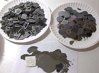 3.00 Pounds Scrap Germanium Wafers for Recovery (Mil-Spec) 1362 grams  FREE SHIP