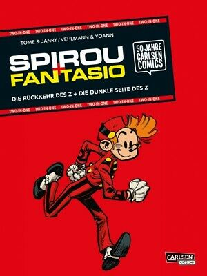 Spirou & Fantasio: TWO-IN-ONE (Softcover) Carlsen Comic