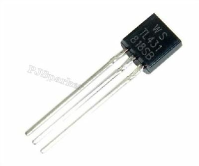 10 Pieces tl431a to-92 Voltage Regulator 2.5-36v Programmable Voltage tl431