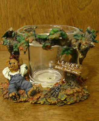 Boyds Votive #27727 AUTUMN FALLSBEARY...LEAFY ENTERPRISES, From Retail Store NIB