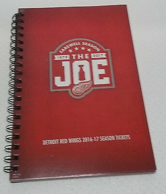 Detroit Red Wings Complete Set 2016-17 Season Tickets Farewell Season The Joe