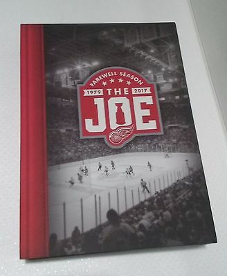 Detroit Red Wings Complete Set 2016-17 Season Tickets Box Farewell The Joe