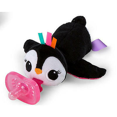 New Bright Starts Cozy Coos Deluxe Pacifier - Penguin Model:24365986