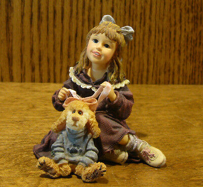 Boyds Dollstone #3555 Cindy with Collier... DRESS UP, 1 Ed NIB From Retail Store