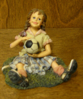 """Boyds Dollstone #3549 MIA...THE SAVE, 2nd Ed. NIB From Retail Store, SOCCER 3"""""""