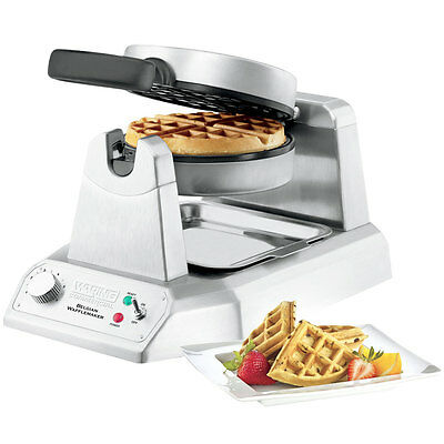 NEW Waring COMMERCIAL WW180 Single 120V Belgian Waffle Maker