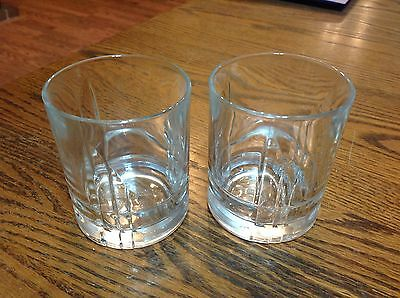Lot of 2 Canadian Club glasses,excellent used cond.