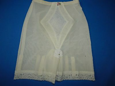 Vintage Warner's High Waist Girdle with Garter Tabs - Small - Style 197