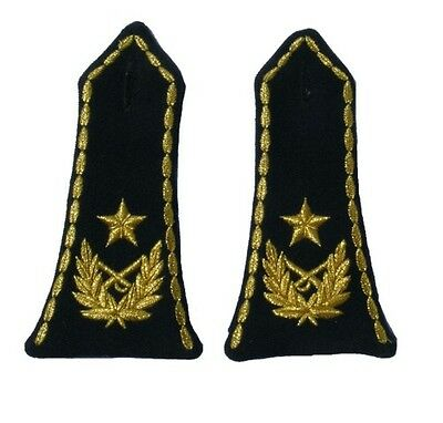 Yugoslav Army Shoulder Boards for Major General, slip on