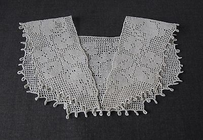 Antique Flowers & Leaves Lace Bride Collar     7793 A